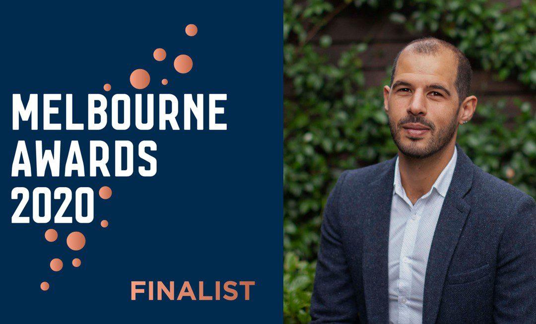 Congratulations to Melbourne Awards Finalist & Community Champion Jake Coleiro!