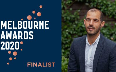 Congratulations to Melbourne Awards Finalist & Community Champion Jake Coleiro!